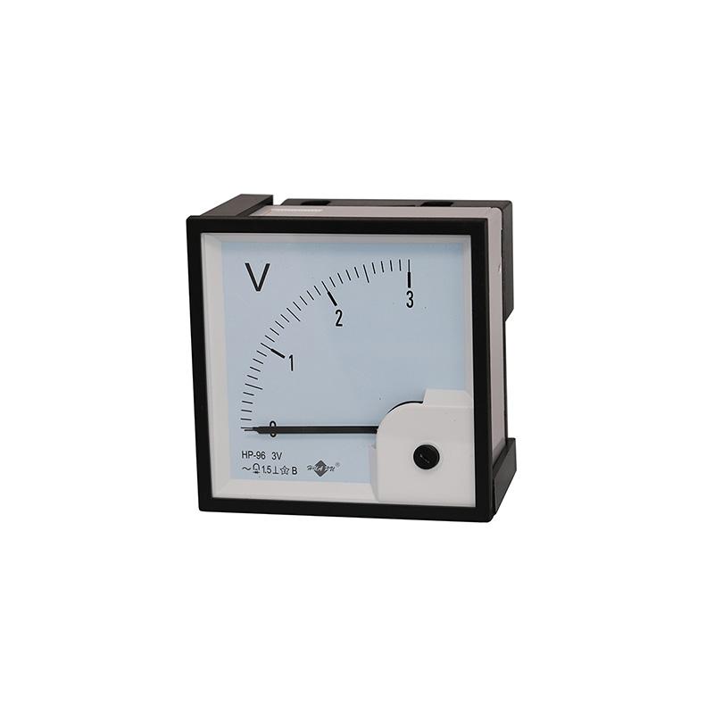 交流电压表磁电式