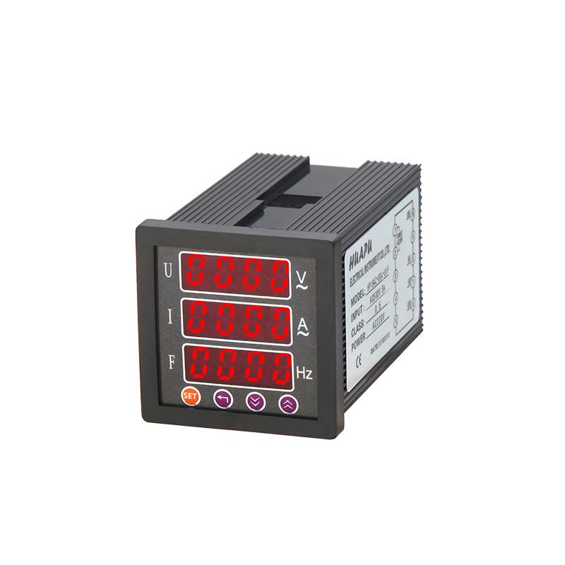 数显电压电流频率组合表