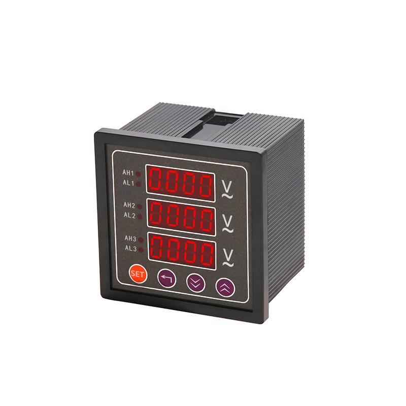数显三相电压表